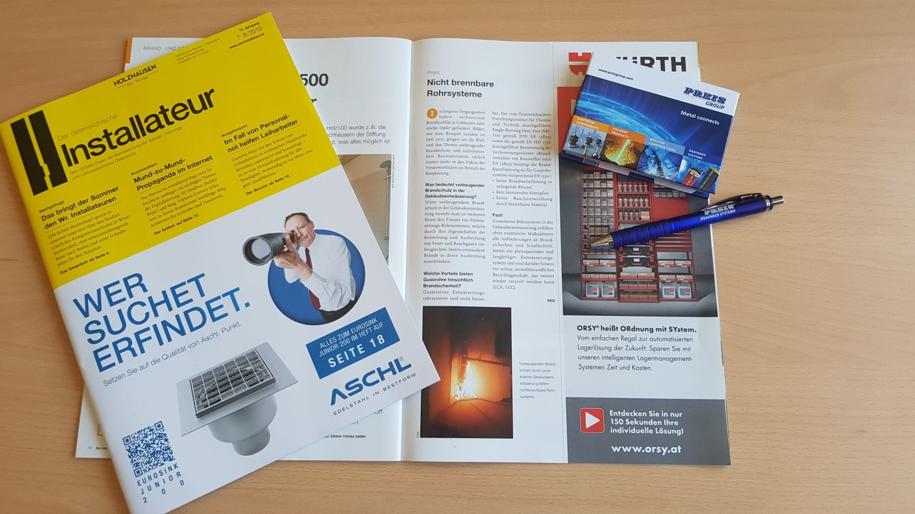 Specialist article on fire protection